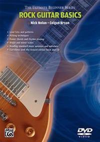 Ultimate Beginner Rock Guitar Basics: Steps One & Two, DVD