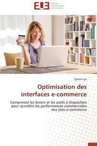 Optimisation Des Interfaces E-Commerce
