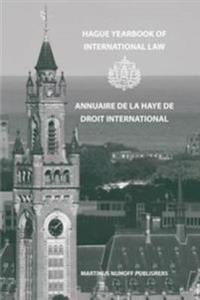 Hague Yearbook of International Law/Annuaire De LA Haye Dedroit International