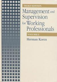 Management Supervision for Working Profiles