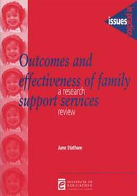Outcomes and Effectiveness of Family Support Networks: A Research Review