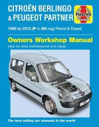 Citroen Berlingo and Peugeot Partner Service and Repair Manual