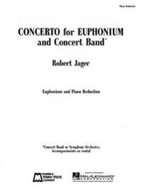 Concerto for Euphonium and Concert Band: Piano Reduction