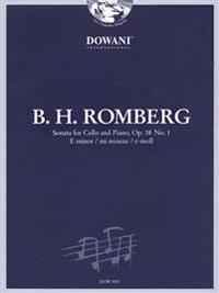 Romberg: Sonata for Cello and Piano in E Minor, Op. 38 No. 1