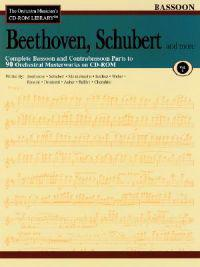 Beethoven, Schubert & More - Volume 1: The Orchestra Musician's CD-ROM Library - Bassoon