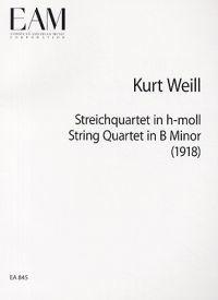 Streichquartett in H-Moll/String Quartet in B Minor