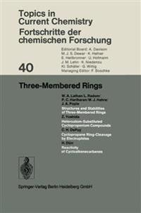 Three-Membered Rings