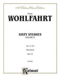 Sixty Studies, Op. 45, Vol 2: Nos. 31-60