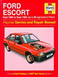 Ford Escort (Petrol) 1980-90 Service and Repair Manual