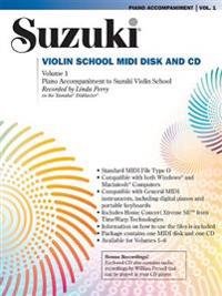 Suzuki Violin School, Vol 1: General MIDI Disk CD-ROM
