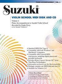 Suzuki Violin School, Vol 1: General MIDI Disk CD-ROM