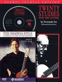Segovia Guitar Bundle Pack: Includes Segovia 20 Studies for the Guitar (Book/CD) and the Segovia Style (DVD)