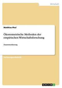 �konometrische Methoden Der Empirischen Wirtschaftsforschung