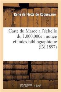 Carte Du Maroc � l'�chelle Du 1.000.000e