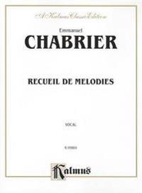 Recueil de Melodies: French Language Edition