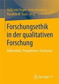 Forschungsethik in Der Qualitativen Forschung