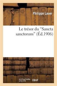 Le Tresor Du 'Sancta Sanctorum'
