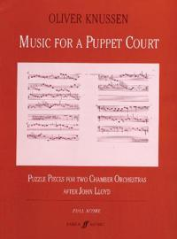Music for a Puppet Court: Full Score