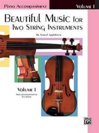 Beautiful Music for Two String Instruments, Bk 1: Piano Acc.