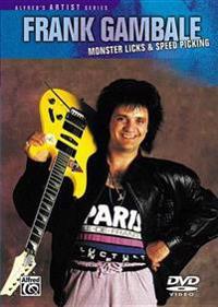 Frank Gambale -- Monster Licks & Speed Picking: DVD