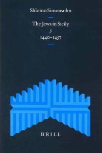 The Jews in Sicily 1440-1457