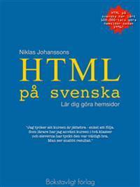 HTML på svenska - lär dig göra hemsidor