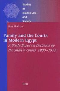Family and the Courts in Modern Egypt
