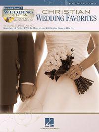 Christian Wedding Favorites: Wedding Essentials Series [With CD (Audio)]