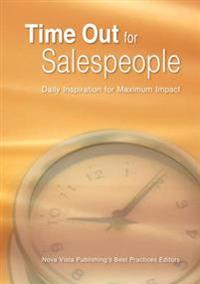 Time out for Salespeople