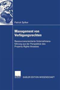 Management Von Verfügungsrechten