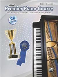 Premier Piano Course Performance, Bk 6: Book & CD