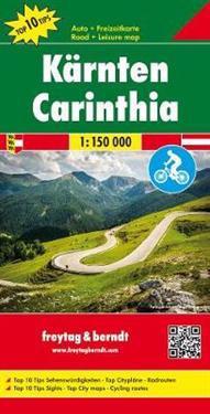 Kärnten, Top 10 Tips, Autokarte 1:150.000