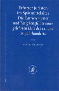 Erfurter Juristen Im Spatmittelalter