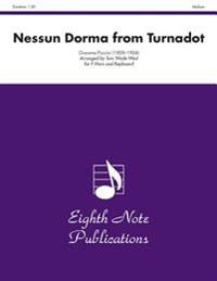 Nessun Dorma from Turnadot: Medium: For F Horn and Keyboard