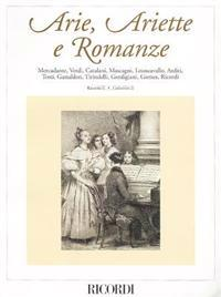 Arie, Ariette E Romanze, Raccolta II: Composizioni Vocali Da Camera del Secondo Ottocento/Vocal Chamber Compositions From The Late 19th Century