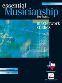 Essential Musicianship for Band: Masterwork Studies-Baritone T.C. [With 2 CDROMs]