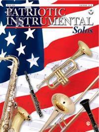 Patriotic Instrumental Solos: Flute, Book & CD [With CD]