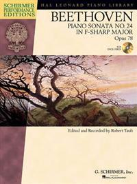 Beethoven Piano Sonata No. 24 in F-Sharp Major, Opus 78