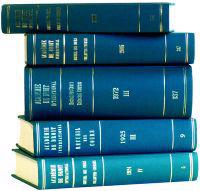 Recueil Des Cours, Collected Courses, Tome/Volume 290a (Index Tomes/Volumes 1999-2001)