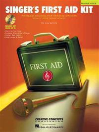 Singer's First Aid Kit - Female Voice: Book/CD Pak