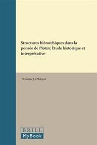 Structures Hierarchiques Dans LA Pensee De Plotin