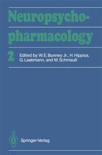Neuropsychopharmacology: Proceedings of the Xvith C.I.N.P. Congress, Munich, August, 15-19, 1988
