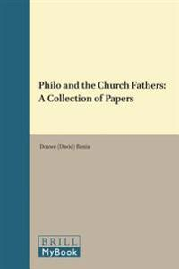 Philo and the Church Fathers
