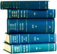 Recueil Des Cours, Collected Courses, 1974