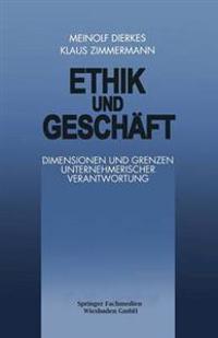 Ethik Und Gesch ft