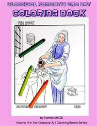 Classical Romantic Era Art Coloring Book