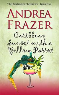 Caribbean Sunset with a Yellow Parrot
