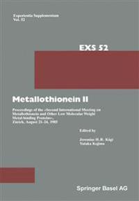 Metallothionein II