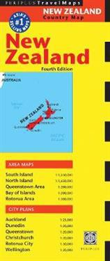 Periplus Travel Map New Zealand
