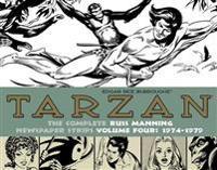 Tarzan The Complete Russ Manning Newspaper Strips Volume 4 (1974-1979)